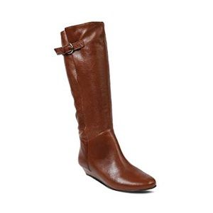 Steve Madden INTYCE Cognac Leather Boots
